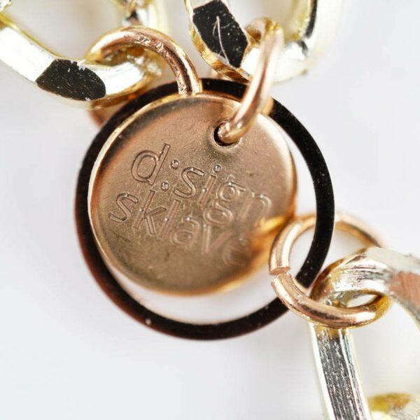 petra stelzmueller armband ketten gold rose hiphop sklave design