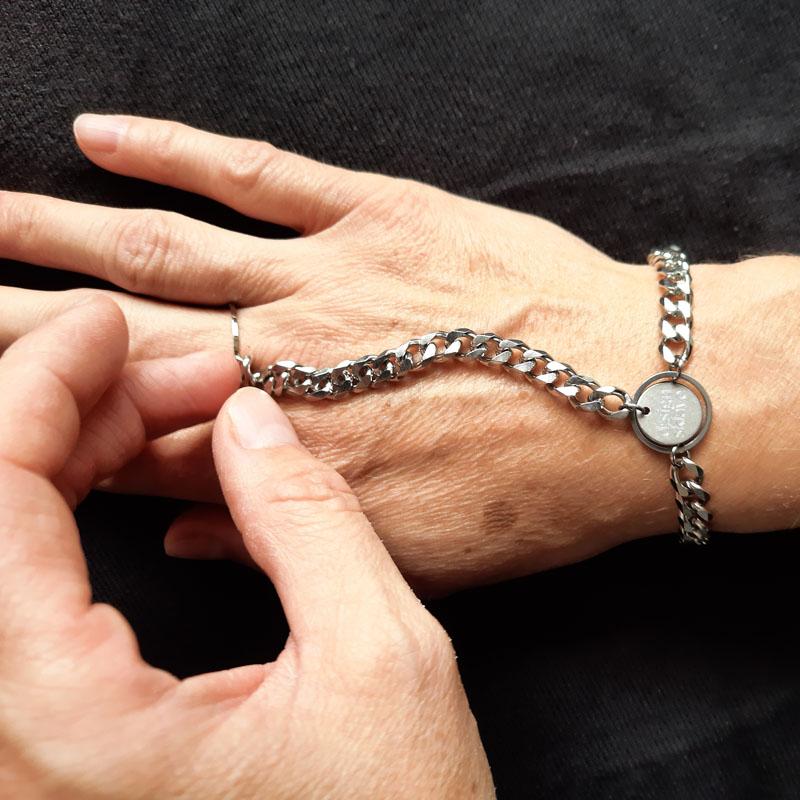 petra stelzmueller armband ketten gold rose silber hiphop sklave design