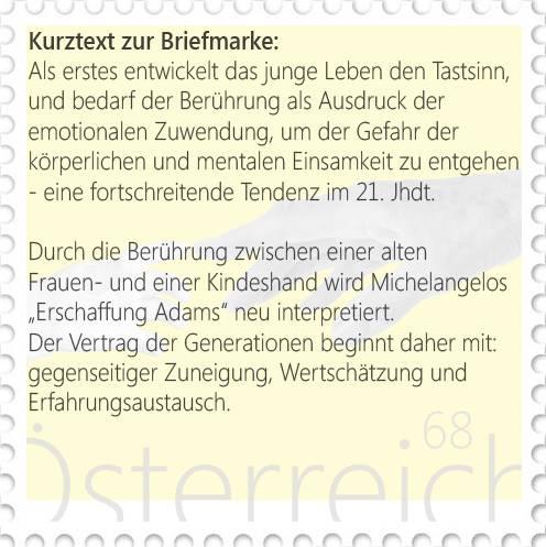 Design Briefmarke Österreich