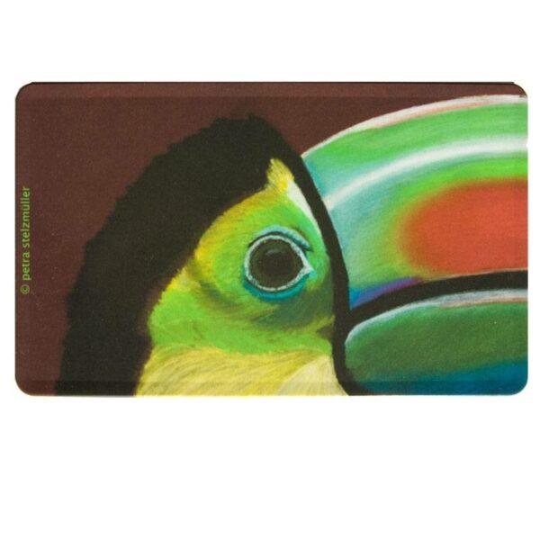 Tablett Tiermotiv Vogel